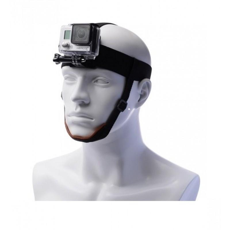 Крепление на голову для GoPro с доп. фиксацией