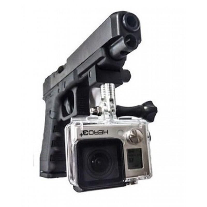 Крепление рельсовое на оружие малое для GoPro