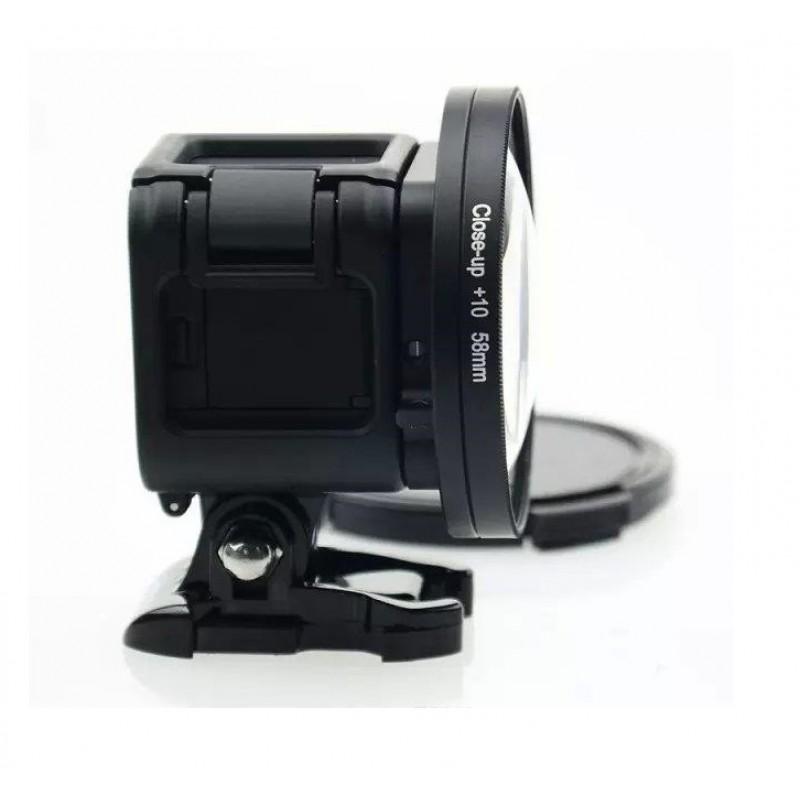 Макро линза 58mm для GoPro Hero 4 Session