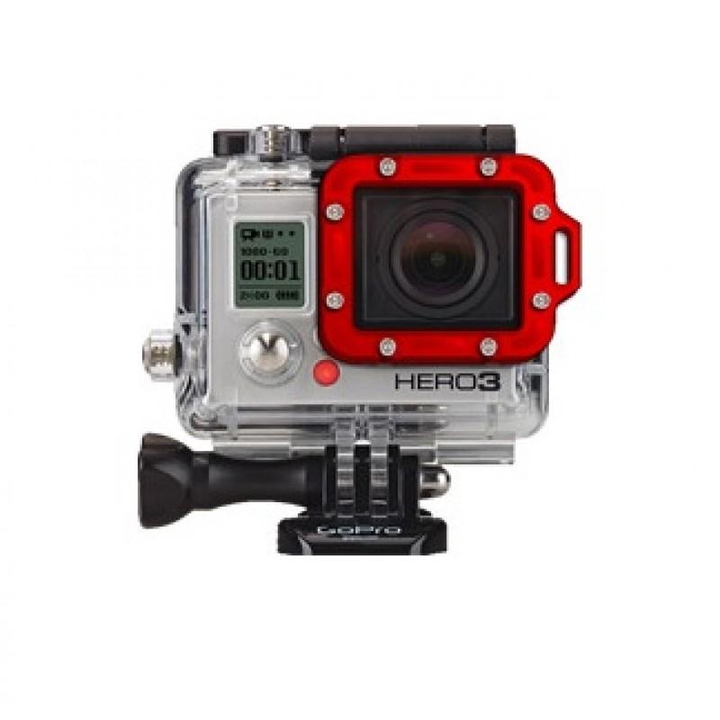 Рамка алюминиевая для линзы аквабокса GoPro Hero3/3+/4