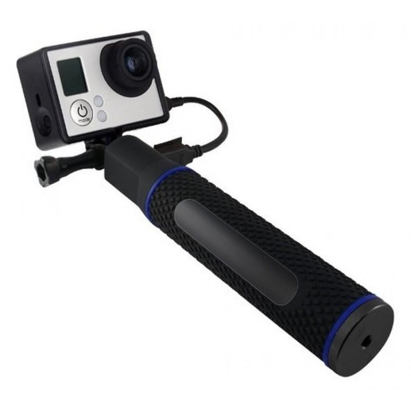 Ручка-держатель (Power Bank) с акумулятором для GoPro