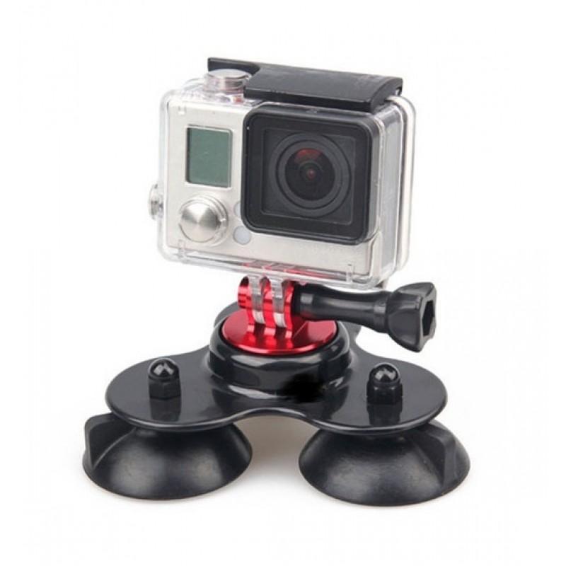 Тройная присоска малая для GoPro