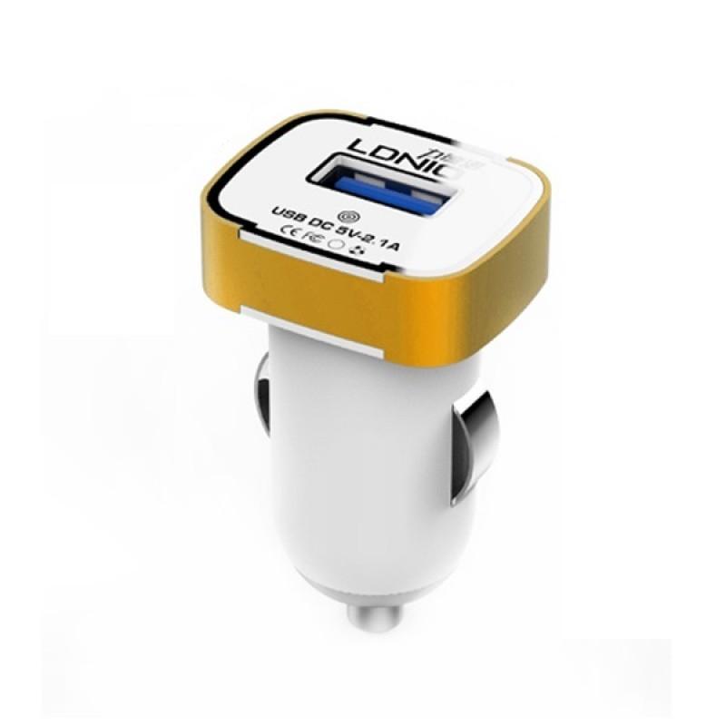 Автомобильное зарядное LDNIO DL-211 microUSB