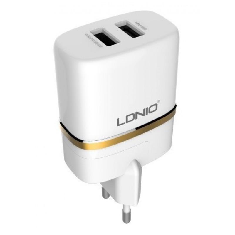 Зарядное устройство LDNIO DL-AC52 2.4A