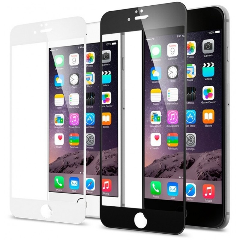Стекло-рамка защитное Modena для iPhone 6/6s Plus