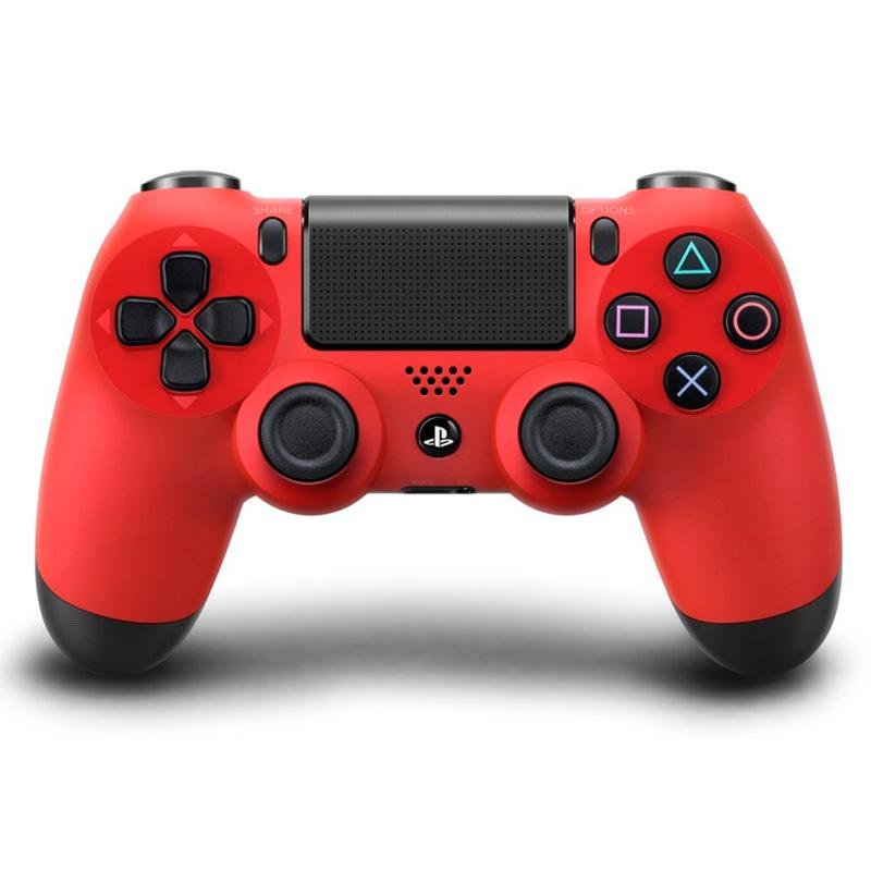 Игровой контроллер Dualshock 4 v1 для PS4, красный