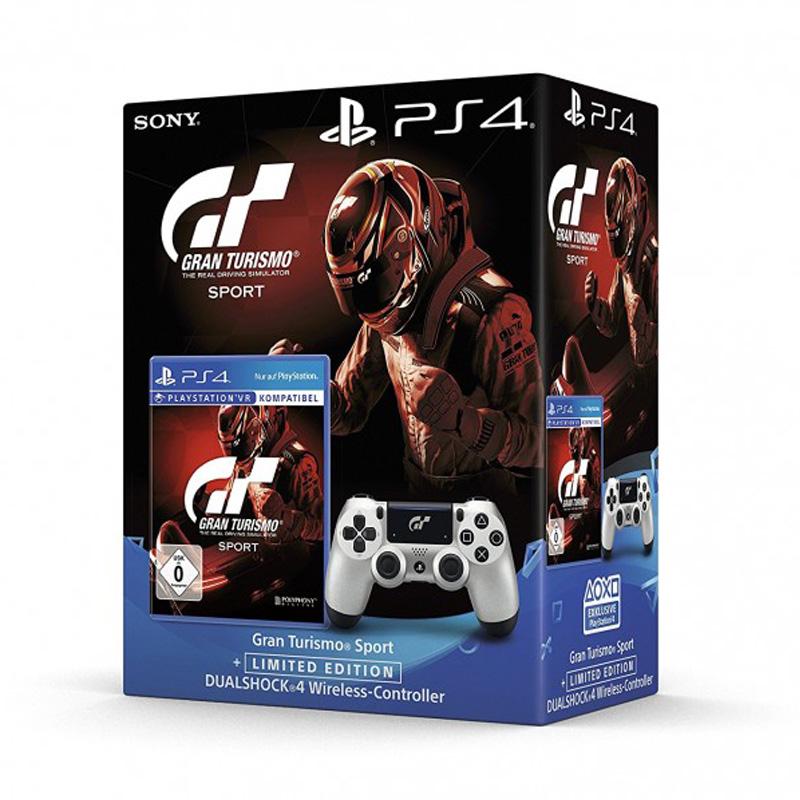 Комплект для игровой консоли PlayStation 4 DualShock 4+Gran Turismo Sport Limited Edition