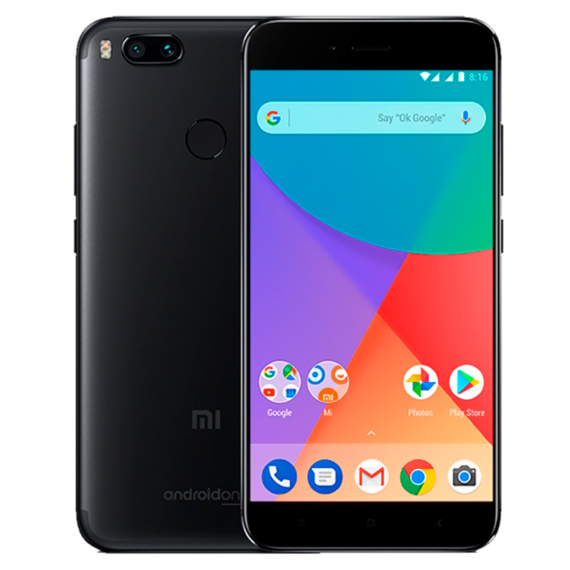 Смартфон Xiaomi Mi A1 32GB Black Global Version