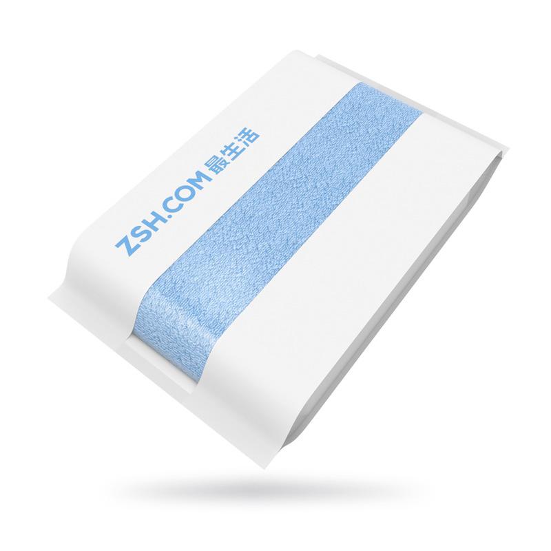Полотенце для лица Xiaomi ZSH, синее