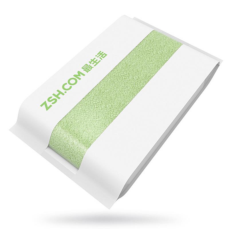 Полотенце большое Xiaomi ZSH 700 x 1400 мм, зеленое