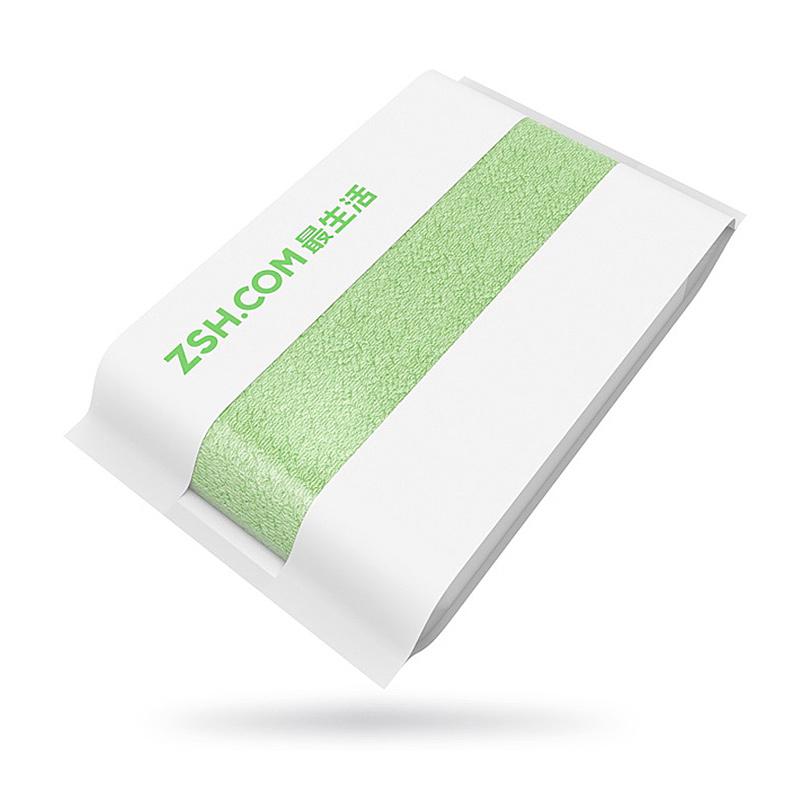Полотенце для лица Xiaomi ZSH, зеленое