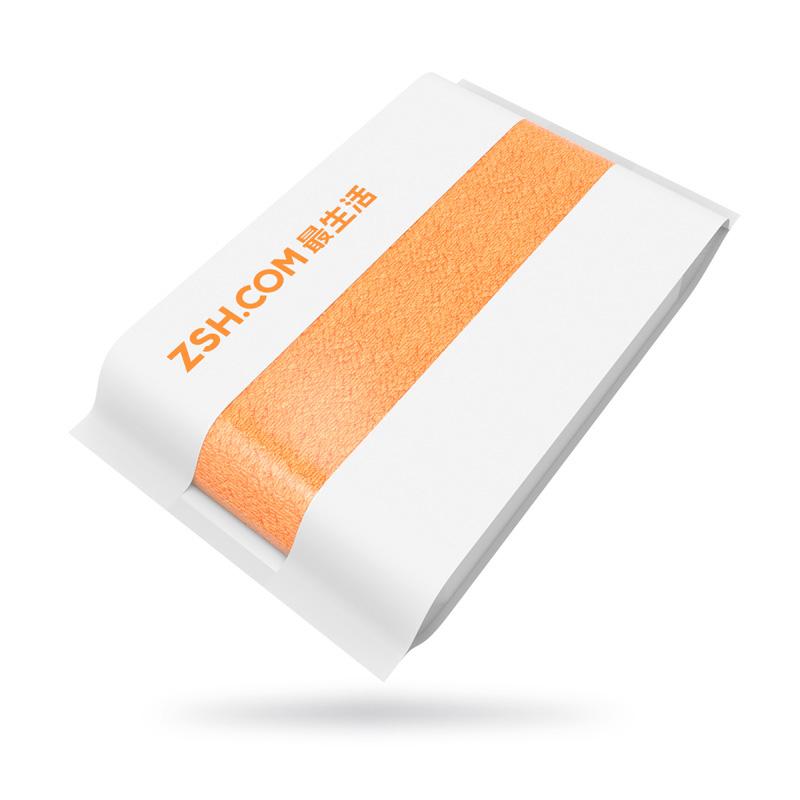 Полотенце для лица Xiaomi ZSH, оранжевое