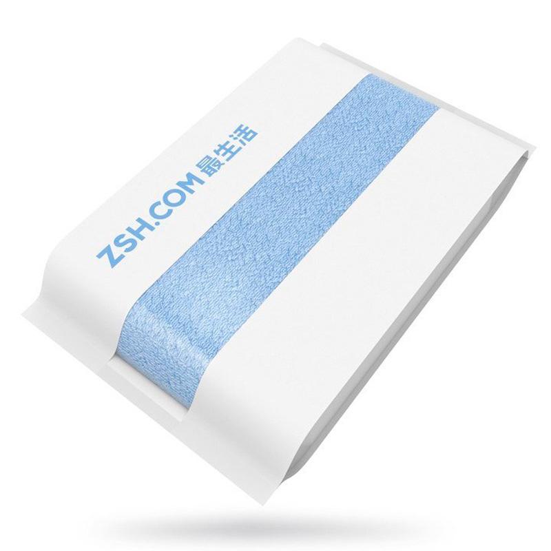 Полотенце большое Xiaomi ZSH 700 x 1400 мм, синее