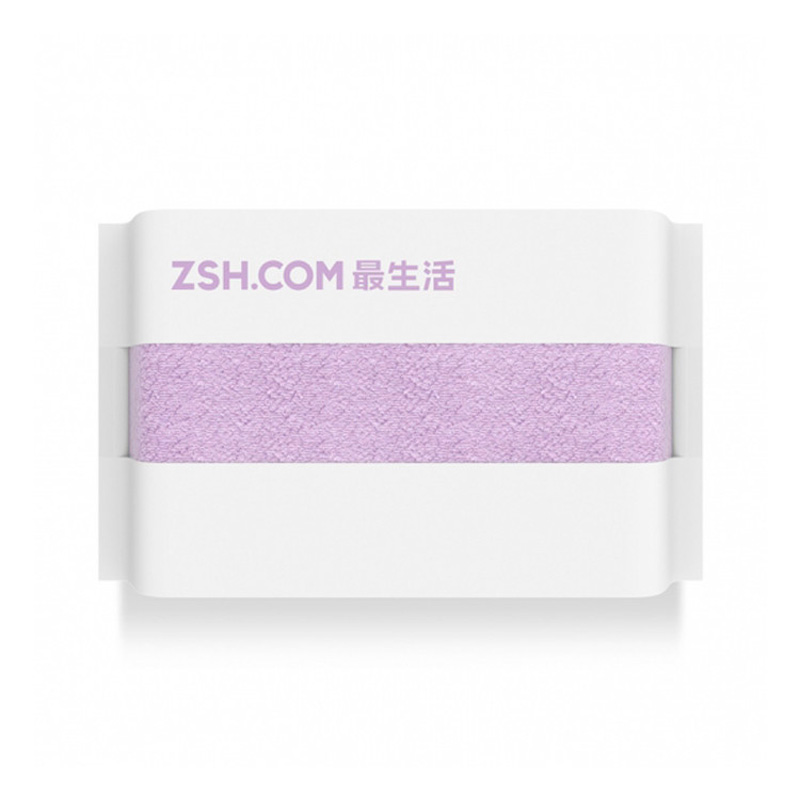 Полотенце для лица Xiaomi ZSH, сиреневое