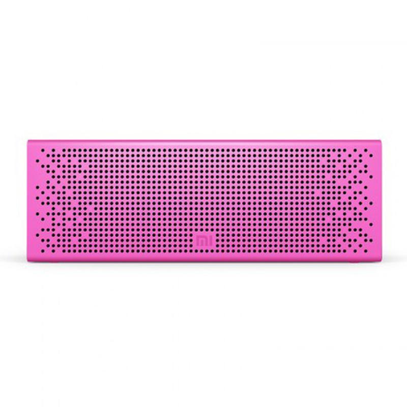 Колонка портативная Xiaomi Mini Square Box 2 BT Розовая