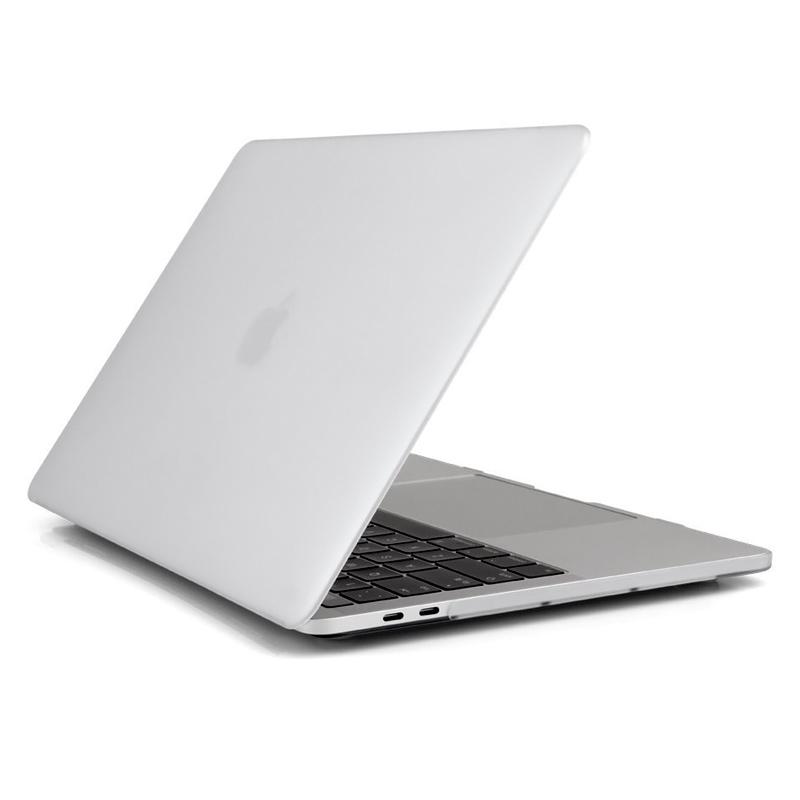 """Чехол-накладка пластик матовый для MacBook Pro 13"""" прозрачный"""