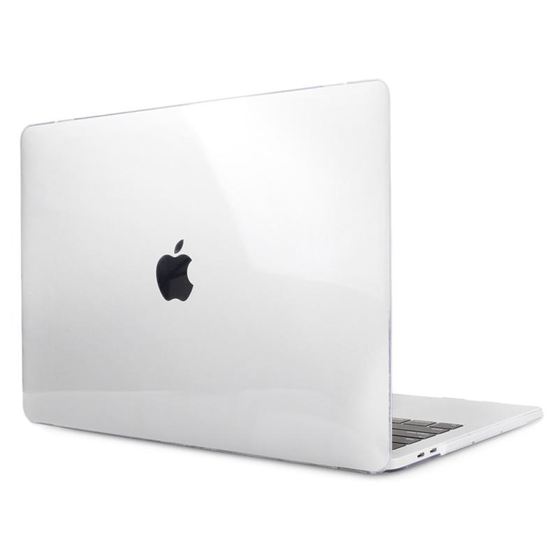 "Чехол-накладка пластик глянцевый для MacBook Pro 13"" прозрачный"