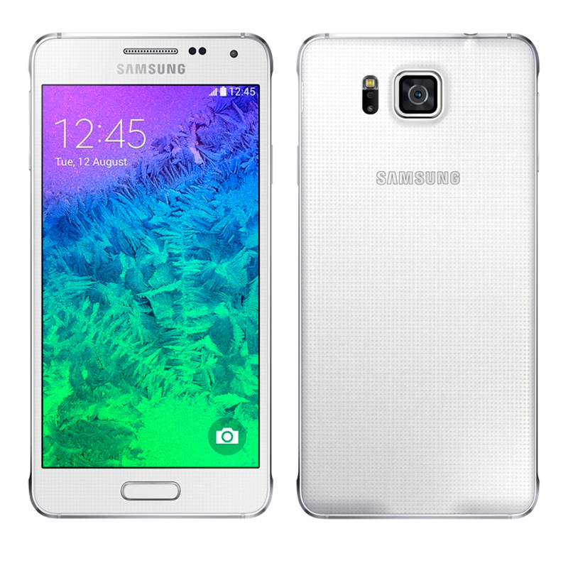 Samsung Galaxy Alpha Silver Demo (G850)