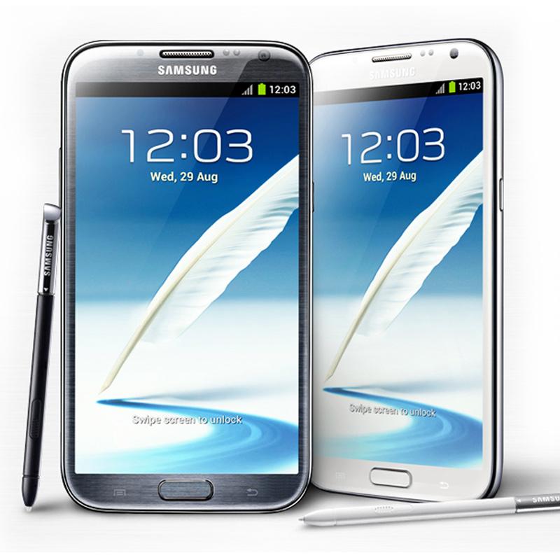 Samsung Galaxy Note 2 Black/White Demo (N7100)