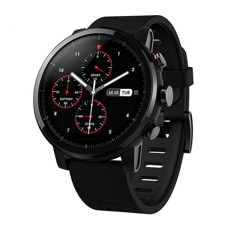 Умные часы Amazfit Stratos, черные