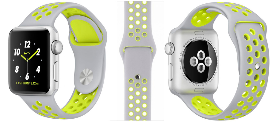 Спортивные ремешки Apple Watch Nike