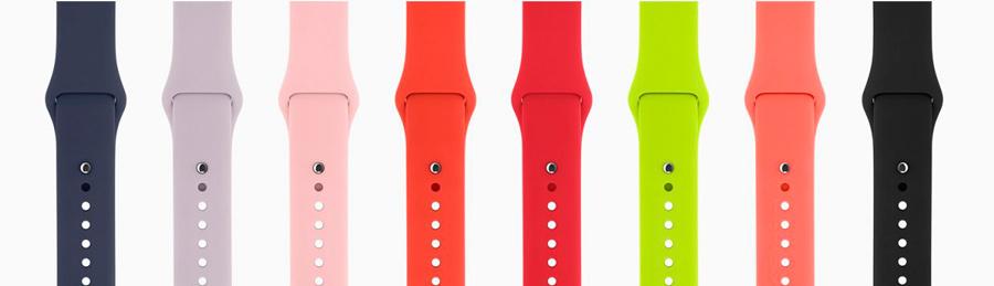 Спортивные ремешки Apple Watch из фторэластомера
