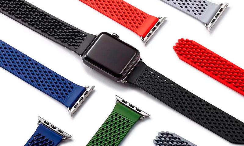 Силиконовые ремешки Apple Watch