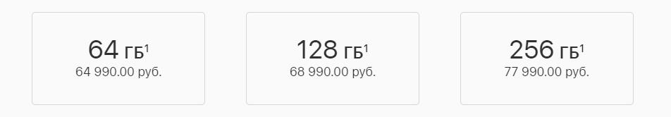 Цена нового iPhone Xr