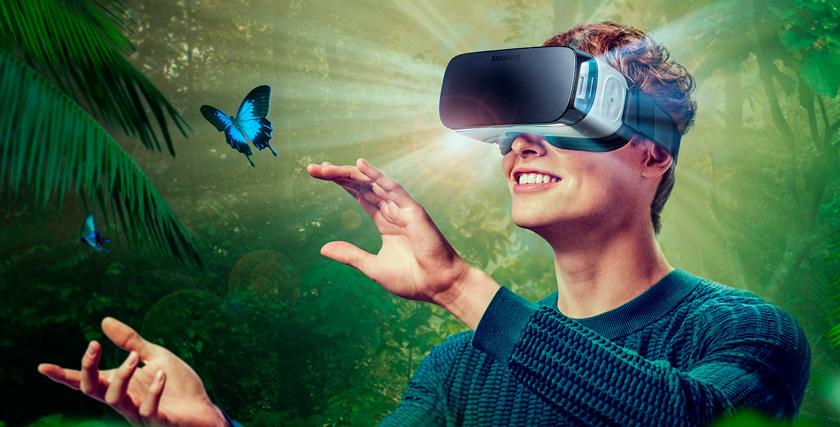 Live demo unit в шлеме виртуальной реальности