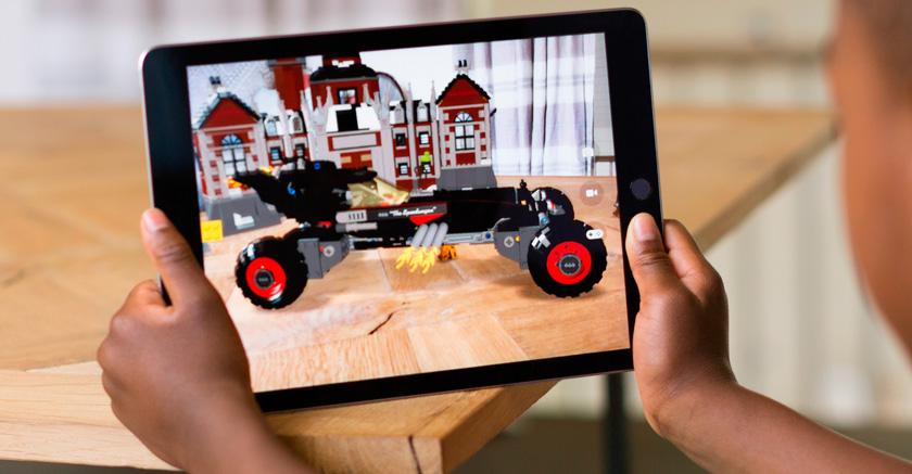 Дополненная трехмерная реальность iPad 2017