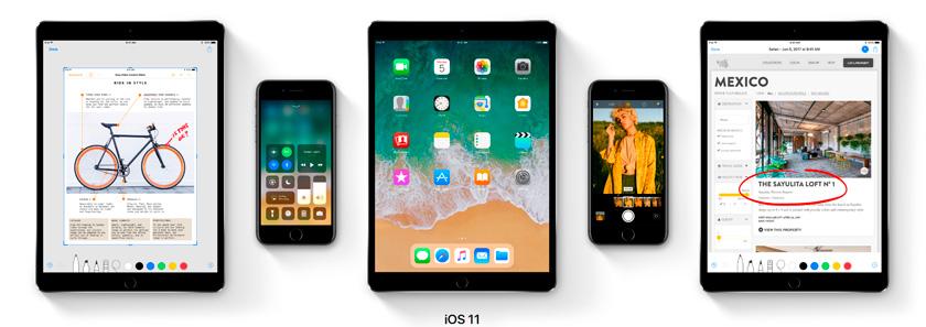 Презентация новой iOS 11