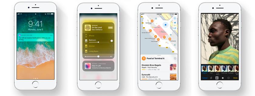 iPhone 7 новая операционная система iOS 11