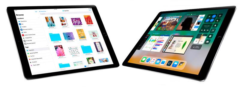 iPad на новой операционной системе iOS11
