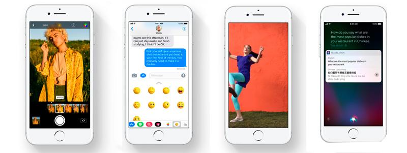 iPhone на новой операционной системе iOS 11