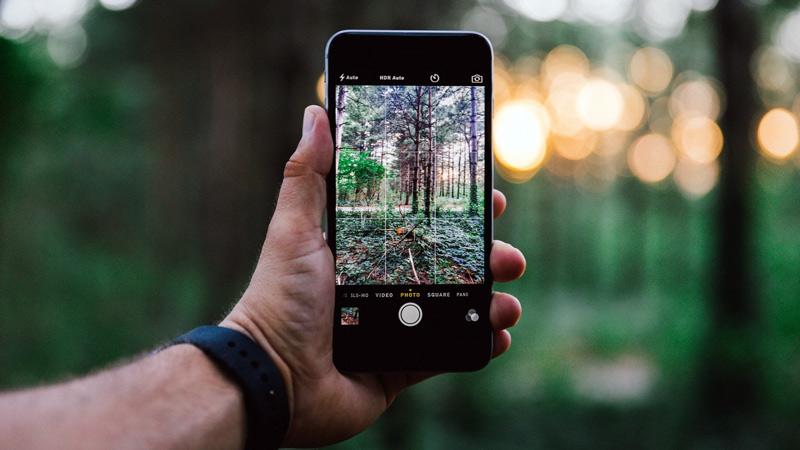 Съемка фото и видео на камеру iPhone 7
