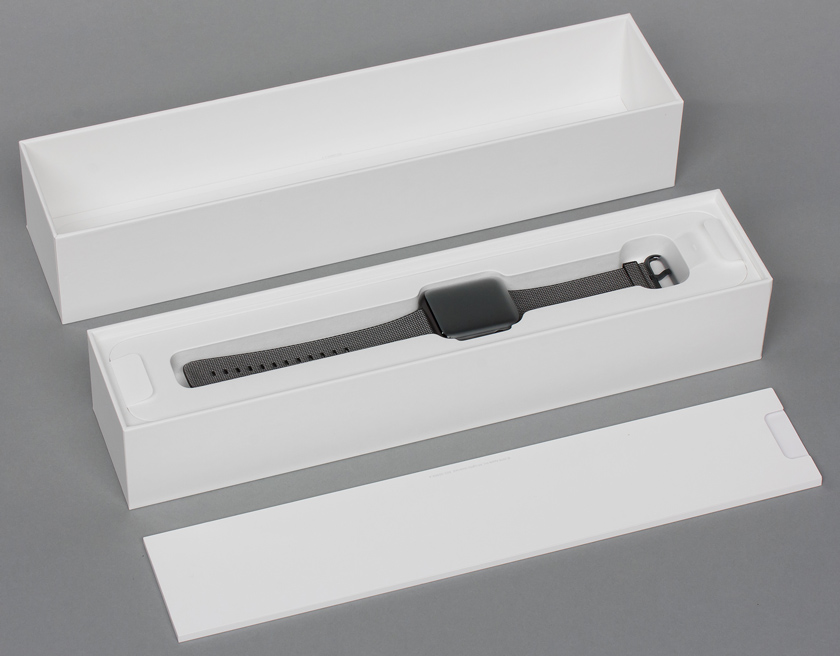 Комплектация часов Apple Watch 2