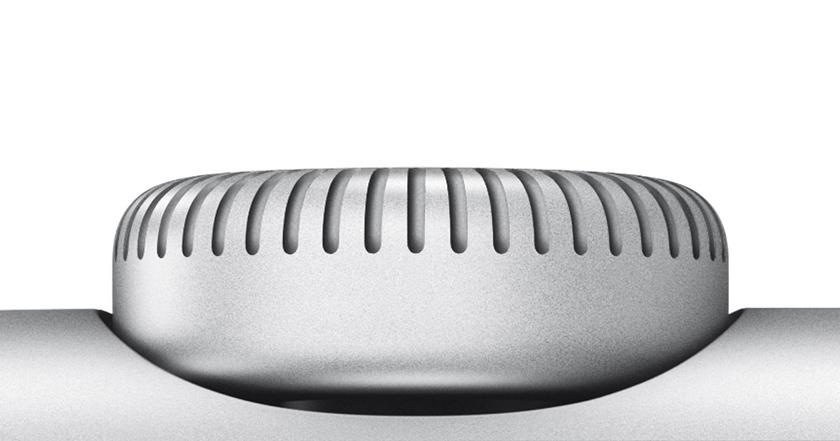 Многофункциональное колесико Digital Crown в Apple Watch 2