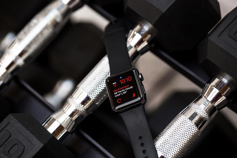 Apple Watch series 2 для занятия спортом