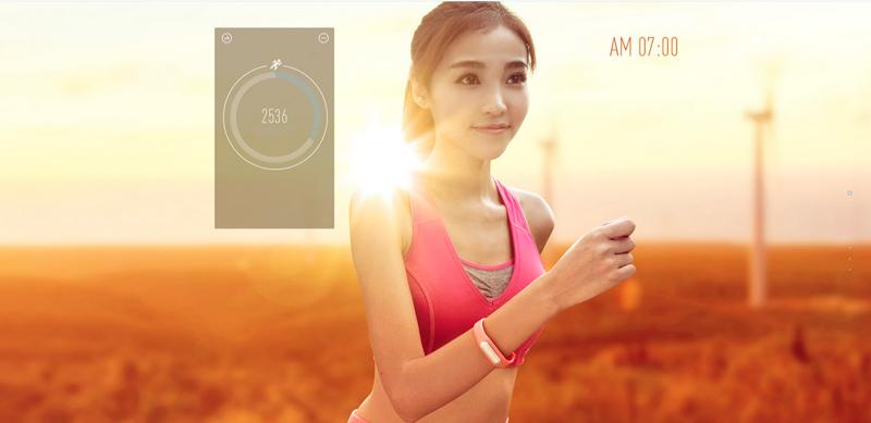 Бег и пробежка в фитнес браслете Xiaomi Mi Band